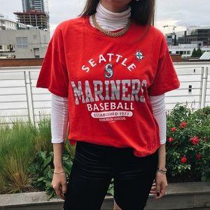Seattle Mariners Vintage Tee Shirt